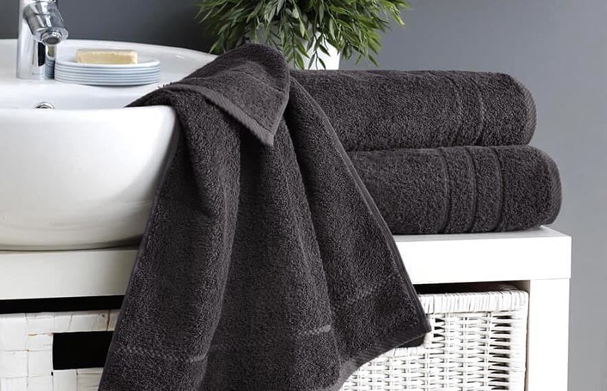 Classic Anthracite Towels