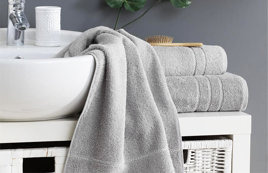 Classic Silver Grey Towels