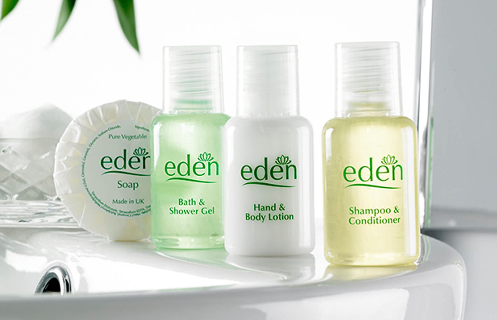 Toiletries Eden Bath & Shower Gel 20ml (frosted) Tube